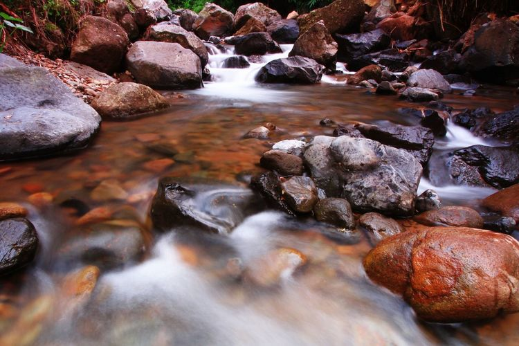 water flow on