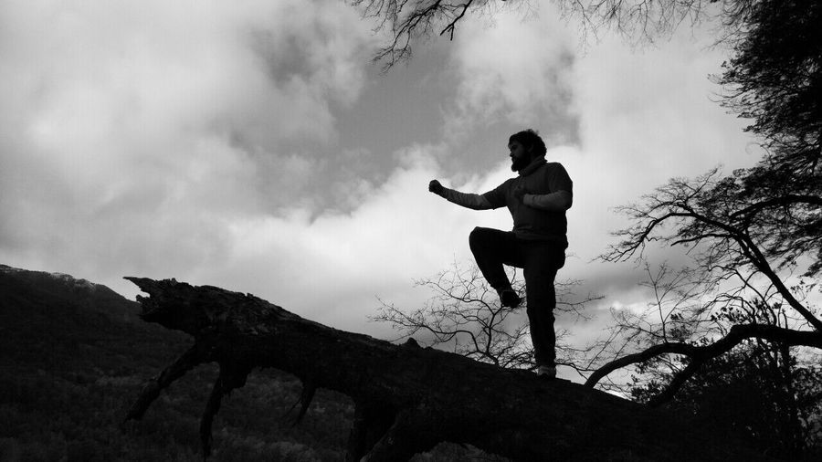 Taekwondo Marcial Arts  Blackandwhite Gray Grayscale Nature Full Length Sky Cloud - Sky Cloud Casual Clothing Outdoors Day Nature Cloudy Carefree Tranquility Tranquil Scene