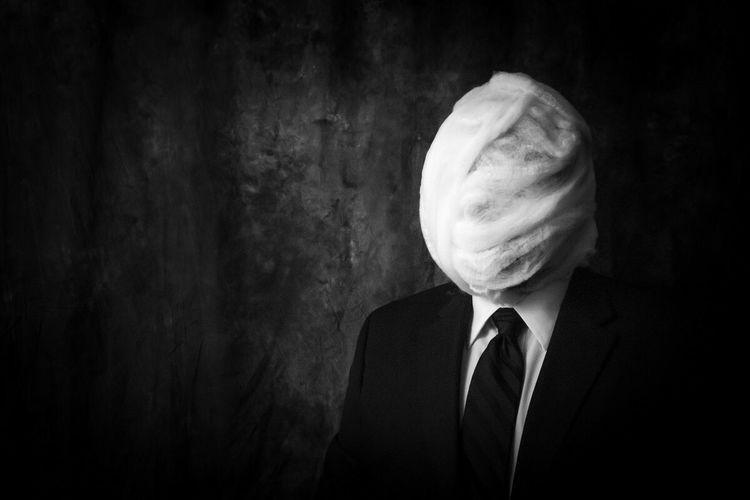 Numb... Conceptual Noir Blackandwhite EyeEm Bnw Horror Darkart Surrealism Portrait Bnw_friday_eyeemchallenge