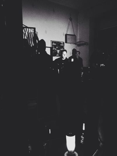 What Does Music Look Like To You? Black And White People Watching Light And Shadow