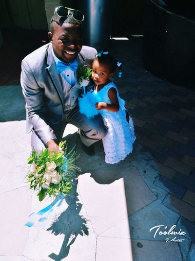 Father Daughter Weddings Vibes Happy Smiles Flower Gir Bestman