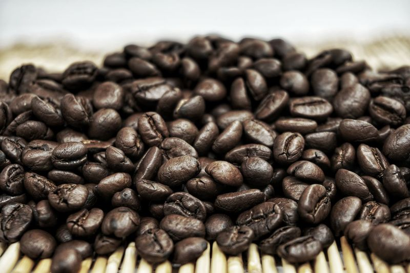 Espresso Morning Backgrounds Blackandwhite Cafe Close-up Coffee - Drink Coffee Bean Cold Temperature Concept Drink Food Food And Drink Freshness Group Of Objects Large Group Of Objects Raw Coffee Bean Roasted Roasted Coffee Bean Vintage