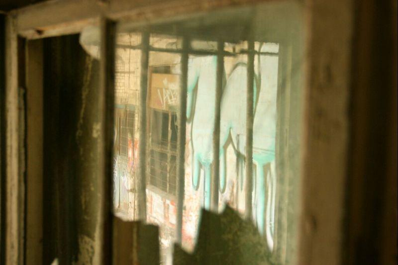 Abandoned Window Reflections