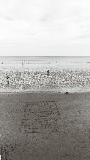 Beach Sea Sand Water Sky Not My Creation Sandcastle Outdoors Sand