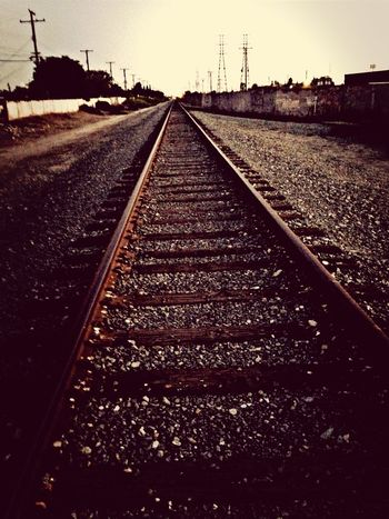 my afternoon on the tracks... Stanton  RailRoadTracks Photoshooting