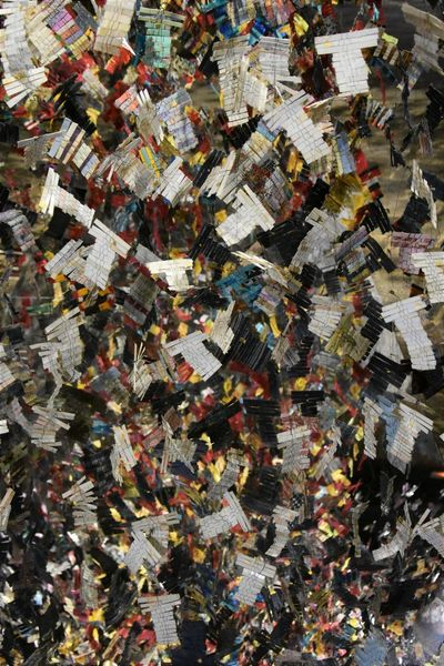 Abundance Backgrounds Chaos Close-up Day Directly Above Environment Environmental Issues Excess Full Frame Garbage Heap High Angle View Indoors  Large Group Of Objects Multi Colored No People Paper Pattern Pollution Stack