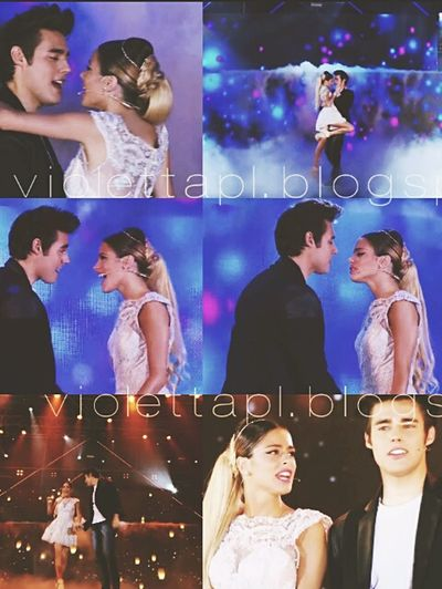 Abrazame y veras ♪ Violetta3 Leonetta Like ? ❤ Like4like