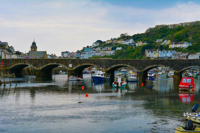Looe Birdge in Cornwall Looe Cornwall Cornwall Uk Bridge River Landscape Photography Scenery Shots Scenery