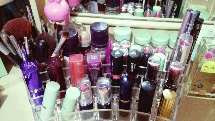It's a girl thing. Lippies