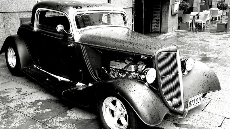 Not the batmobile but still cool Ford Coupe Car Automobile Printworks Manchester Check This Out Phone Photography