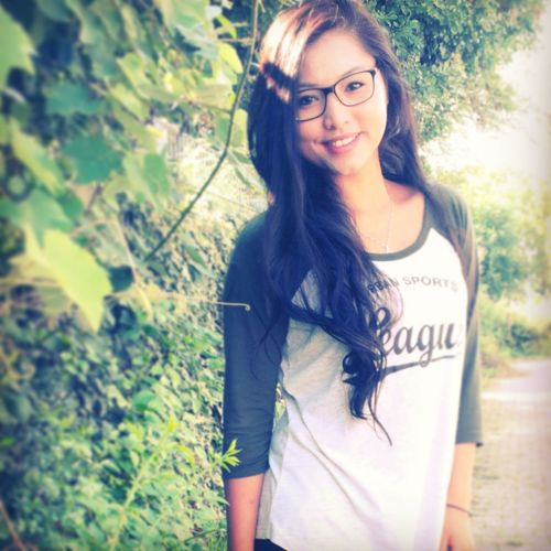 Me and my glasses, did I already say that I love it. ? Hi! I Love You ♥ Portrait Smile :)