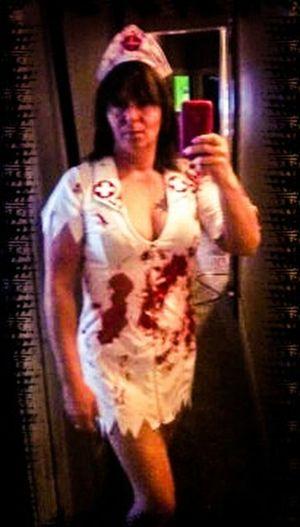 Check This Out Taking Photos Hotgirl Hottie Nurse Halloween Costumes Selfies Sexygirl Sexyselfie Mirrorselfie RedneckHeaven Redneck
