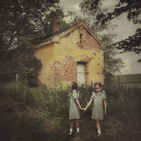 It's nice to visit the past, but always remember to hang on to the present Abandoned Places Abandoned Buildings Exploring The Portraitist - 2015 EyeEm Awards