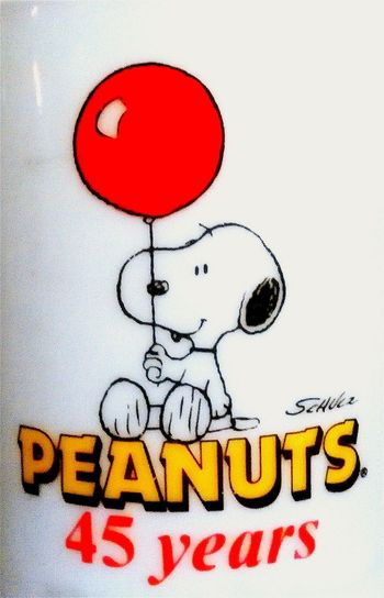 Check This Out Balloon Red Balloon Animal Representation Animal Themes Peanuts© PEANUTS ® 45 Years Coffee Mug Schulz Collectable Merchandise Collectors Item Collectors Edition Collectors Series Collectorsitem Collectable Collectables 45 Forty Five Collectable Items FortyFiveYears Fortyfive Comic Character Peanuts Snoopy Snoopy© Snoopy ❤ Snoopyart Snoopy/peanuts 45years