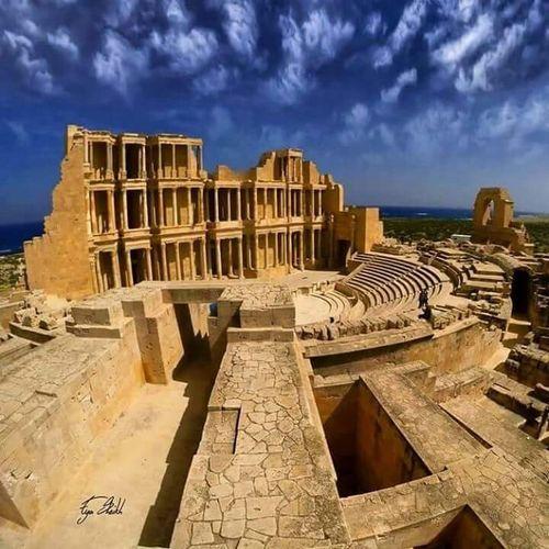 Sabratah صبراته ليبيا Hi! Check This Out This Is Libya <3<3  Ancient Beauty Ancient