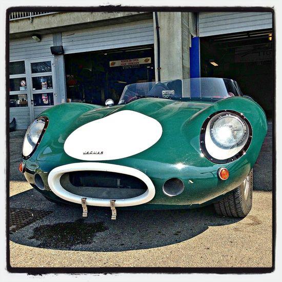 Vintage Cars JAGUAR Green