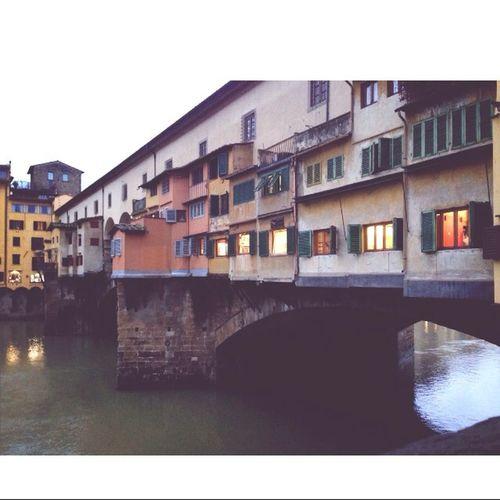Ponte Vecchio Firenze Italy Landscape