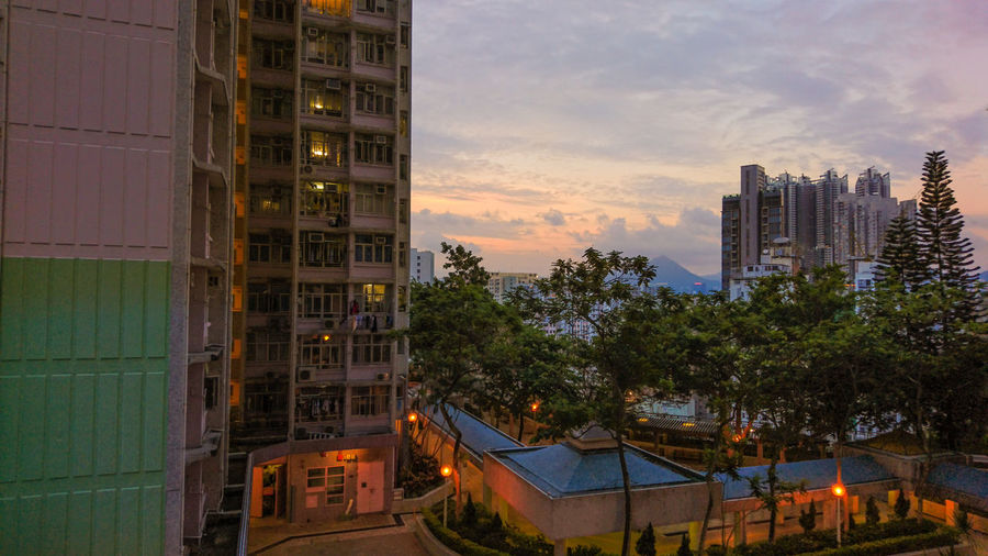 Time goes by and the view changes a lot. In my childhood, theres no those tall buildings on the right side. Some may think its the development or style of Hong Kong, but I dont like that. Photo by Sony Z5 HongKong Shaukeiwan Sunset Architecture Style Of Hong Kong Sony Xperia Z5