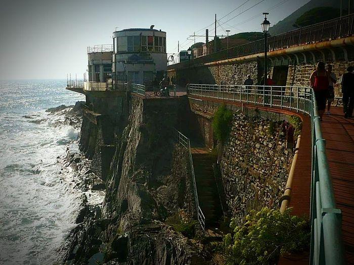 Nervi  Liguria Italia Italy❤️ Passeggiate Lungomare Ariapulita Balades Mer Plein Air Sea Seaside Seacollection Freshair Walking Around Landscape Landscape_photography Landscape #Nature #photography