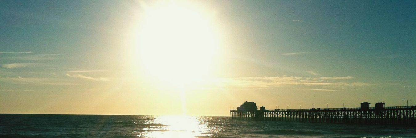 Sunset at Oceanside. Oceanside Sunsets Summer ☀ Pacific Ocean