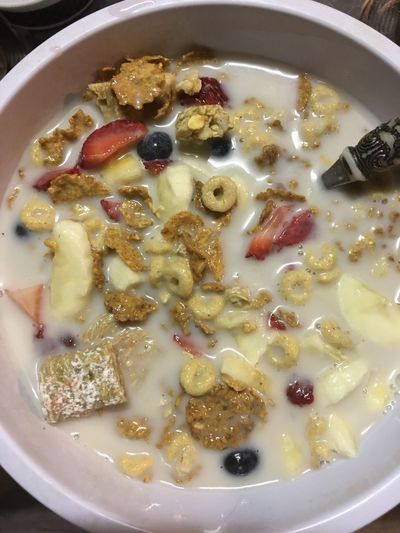Visual Feast / breakfast - fruit !