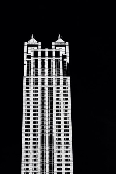 Monochrome Architecture_bw Architecture Chicago
