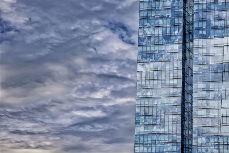 Clouds Sky and Office Building Architecture Cloud - Sky Glass Architecture Reflections Reflective Glass Architecture Sky