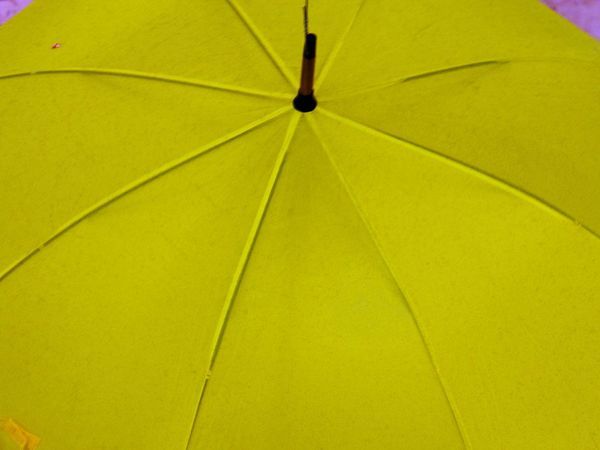 Raining Backgrounds Close-up Day Full Frame Low Angle View Mary Poppins No People Shelter Umbrella Yellow