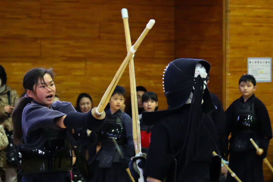 My Daughter Kendo Senior Examination Tokyo Japan EyeEm EyeEm Best Shots Asian Culture Japanese Culture Budo Hits ! It's a examination of the hitting type !
