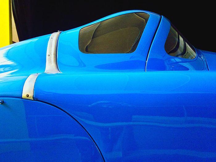 Car Racing Car Voiture Retro Blue Bleu Cobalt Blue By Motorola musee de l'automobile de Chatellerault, France