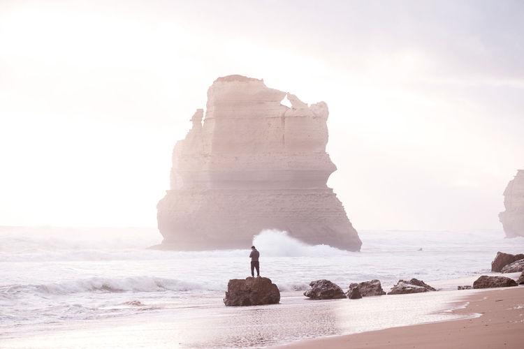 Magog on the Australian Coast IG @noeldxng Rock Land Sea Water Beach Rock Formation Sky Beauty In Nature Nature Scenics - Nature Day Outdoors Australia Landscape Port Campbell National Park Victoria Seascape A New Beginning Capture Tomorrow