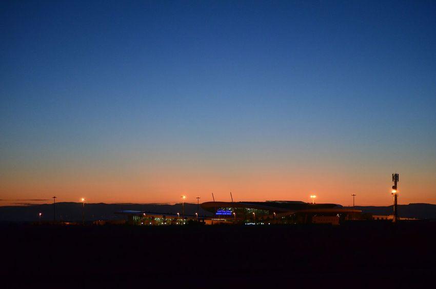 Sunrise Aeroport Oujda Angads Oujda City, Morocco Beautiful Morning The Purist (no Edit, No Filter) Morocco Beautiful Sky Colors الحمد_لله سبحانك ربي