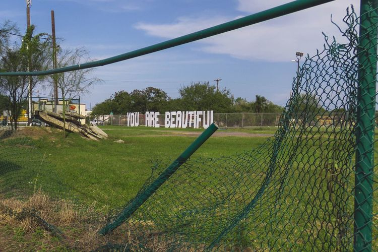 "Here Belongs To Me ""You Are Beautiful."" I come from one of the most low-income societies in the US. It's interesting here! Urban Art Neighborhood Gilbert J. Photography Brownsville Texas Texas"