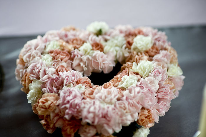Wedding flower decorations Flower Pink Color Close-up Peony  Fragility Flower Head Freshness Decoration Centrepiece Rose - Flower Wedding Celebration Elegant Wedding Ceremony Heart Love Heart Shape