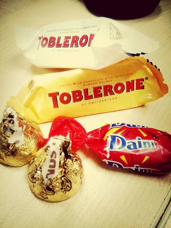 Souvenier from officemate.. tq.. Holiday Chocolate Sweets