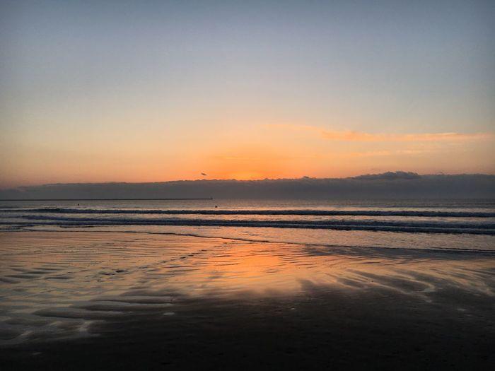 ISOPIX Dedicate To @mc924 EyeEm Water Shots Sea Beach Sunrise Beauty In Nature Scenics Tranquil Scene Tranquility Water Nature