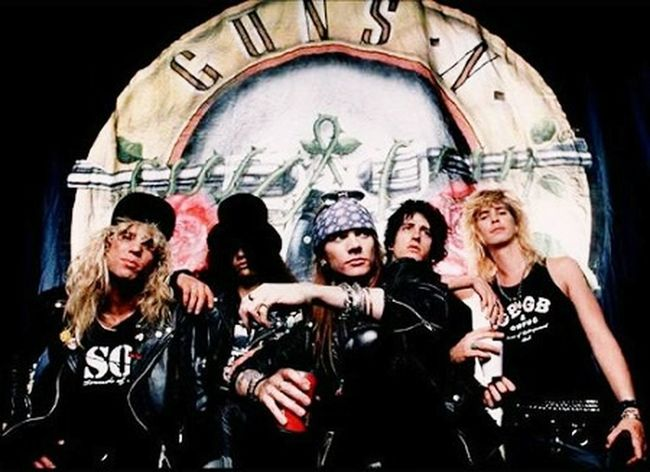 Guns N' Roses Gunsnroses Guns And Roses Relaxing Hi! Hello World Cheese! Hello World