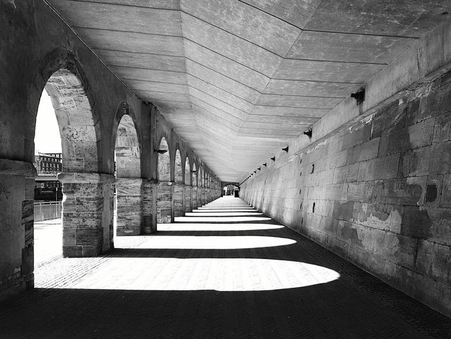 Leading Lines Sunlight Light And Shadow Architecture Blackandwhite Getting Creative Wall Blackandwhite Photography Taking Photos Photography Eye4photography  Simple Things Urban Geometry Sunlight And Shadow Mobilephotography No People Showcase April