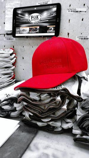 My personal brand for my Kustom work Christian Kustomz Weldporn Handmade Flexfit Red Check This Out Blackandwhite Custom 2016