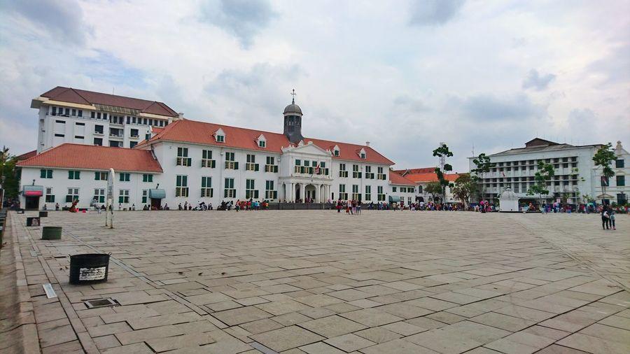 Jakarta old town at Kota Tua Jakarta Museum Fatahillah taken on Sony Xperia Z5