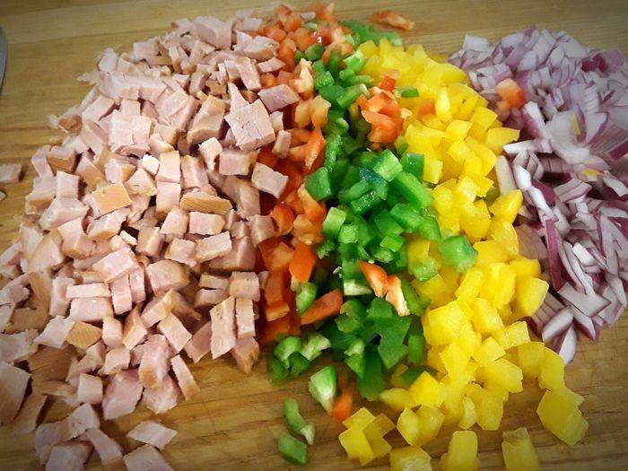 Colors Food Freshveggies Chopped