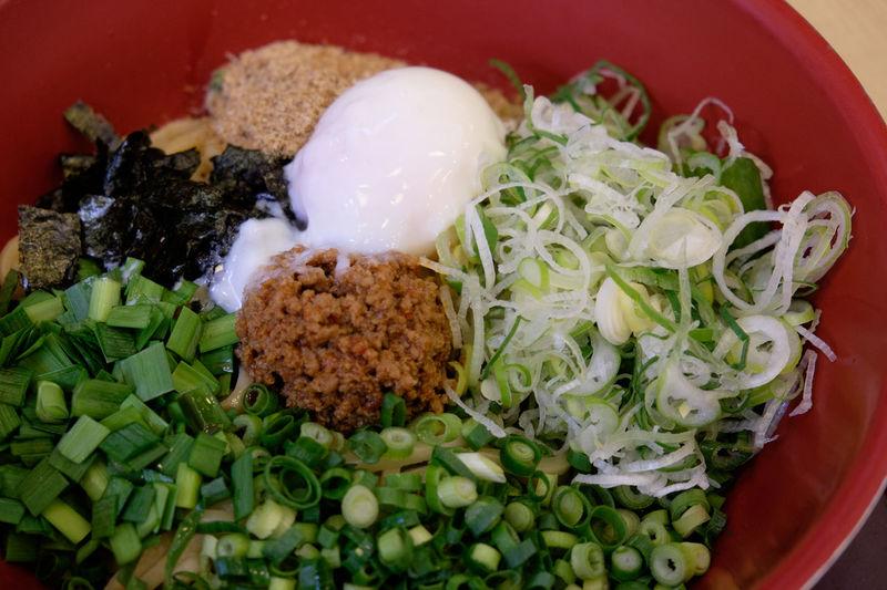 台湾に存在しない台湾まぜそば Food Foodporn Fujifilm Fujifilm X-E2 Fujifilm_xseries Japan Japan Photography Leaf Vegetable Meal Noodles Ready-to-eat Serving Size まぜそば 台湾まぜそば 名古屋飯