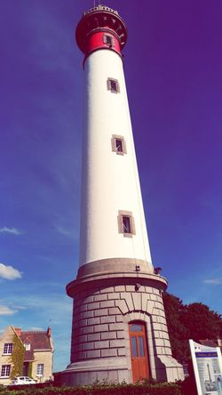 Far Politics And Government Tower Lighthouse Architecture Building Exterior Built Structure History Travel Destinations Sky Low Angle View Outdoors Day No People Phare Phare Ouistreham Ouïstreham Ouïstreham
