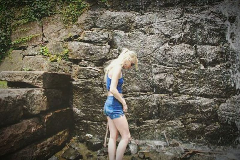 Took some pictures for a friend the other day. One Person Blond Hair Outdoors Full Length Nature Water