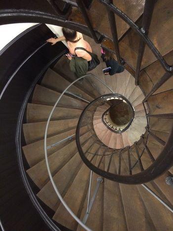Historisches Museum Frankfurt Night At The Museum Wendeltreppe Spiral Staircase