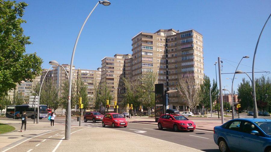 Los Edificios de Kasan en el Barrio Del Actur