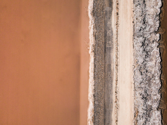 What's that? Colours and materials Colors Drone  France Landscape_Collection Backgrounds Beauty In Nature Brown Camargue Close-up Day Dronephotography Full Frame Heart Colorful Land Landscape Material Nature No People Outdoors Pattern Salt Flat Scenics - Nature Textured  Travel Destinations Wall - Building Feature