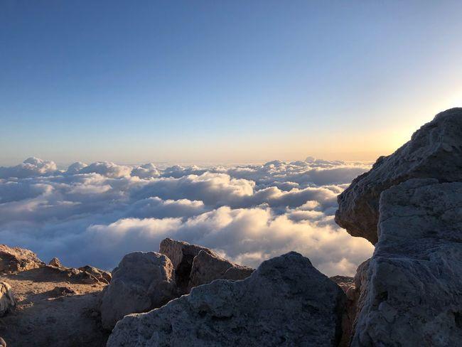 Volcano Teide, Tenerife 🇪🇸 Sunrise Nofilter Tenerife SPAIN Clouds Teide National Park Mount Teide Sky Beauty In Nature Scenics - Nature Water Tranquility Nature Copy Space Rock Idyllic Rock - Object Outdoors Cloud - Sky
