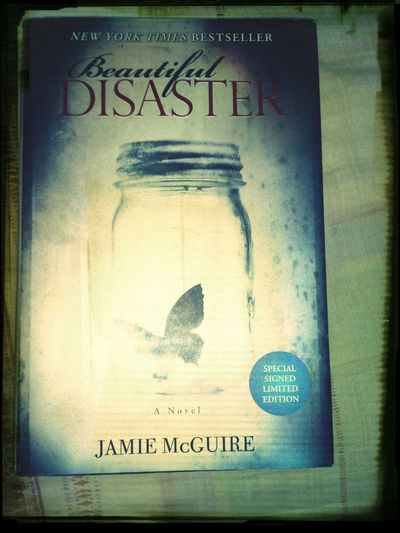 I'm one of the few who owns the Limited Edition of Beautiful Disaster . Travis Maddox Abby Abernathy