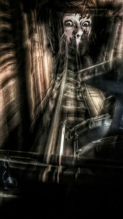 Terror Train. With my good buddy Mia. Twisted Dream Dark Fairytale Darkness And Light X😨w😦x Fairytales & Dreams Creative Power Mind The Mind Heroes & Villains Light And Shadow Hdr Edit